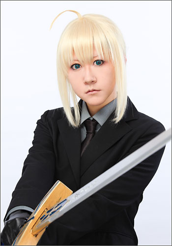 Fate/Zero セイバー 風 ウィッグ